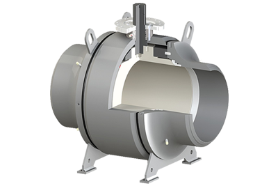 Ball-Trunnion-Mounted-Welded-Body